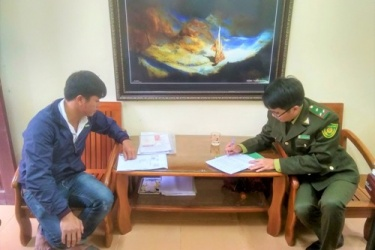 Hạt Kiểm lâm VQG Phong Nha - Kẻ Bàng:Tiếp tục xử phạt tài xế vận chuyển lâm sản trái pháp luật